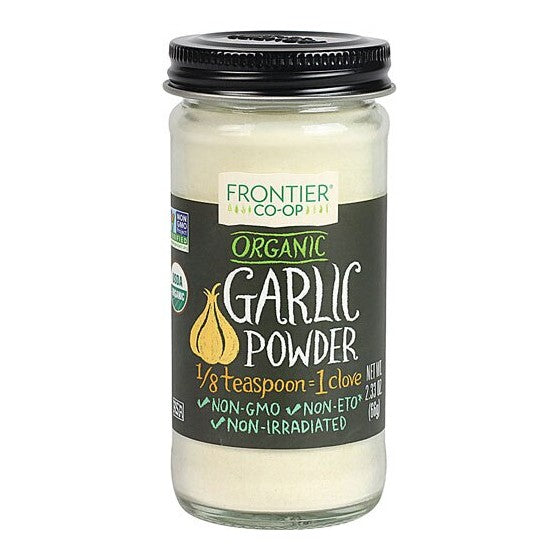 Frontier Co-Op Organic Garlic Powder  2.56 oz