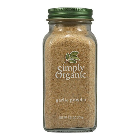 Simply Organic Garlic Powder  3.64 oz
