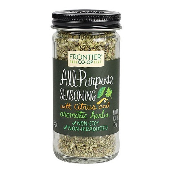 Frontier Co-Op All Purpose Seasoning with Citrus & Aromatic Herbs  1.2 oz