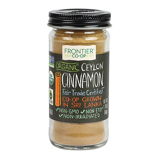 Frontier Co-Op Organic Ceylon Cinnamon Ground  1.76 oz