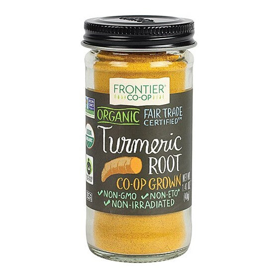 Frontier Co-Op Organic Fair Trade Turmeric Root Ground  1.41 oz
