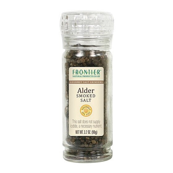 Frontier Co-Op Alder Smoked Salt Grinders  3.2 oz