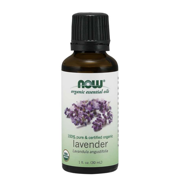 Now Foods, Organic Essential Oils, Lavender, 1 fl oz (30ml)