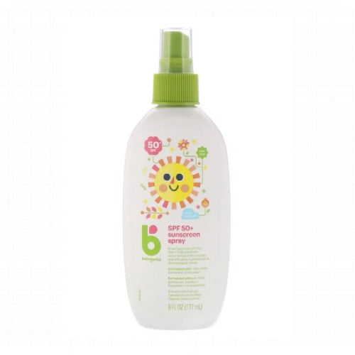 Babyganics, Mineral-Based Sunscreen Spray, 50+ SPF, 6 floz (177ml)