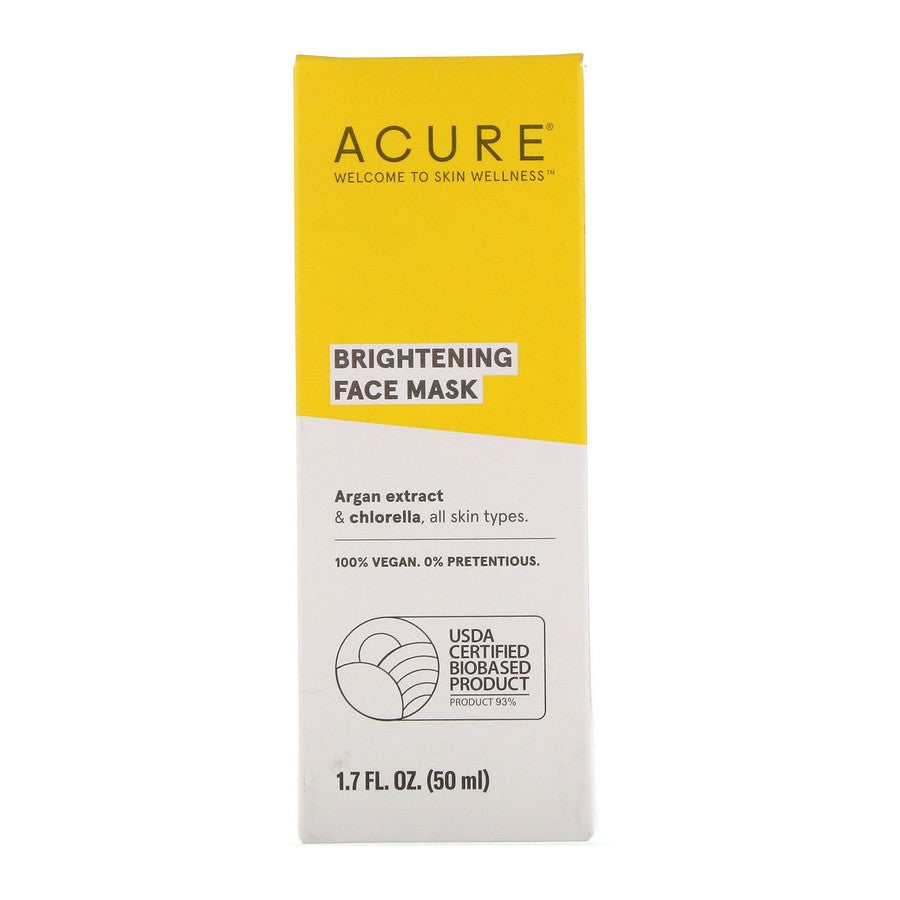 Acure, Brilliantly Brightening Face Mask, 1.7 floz (50ml)