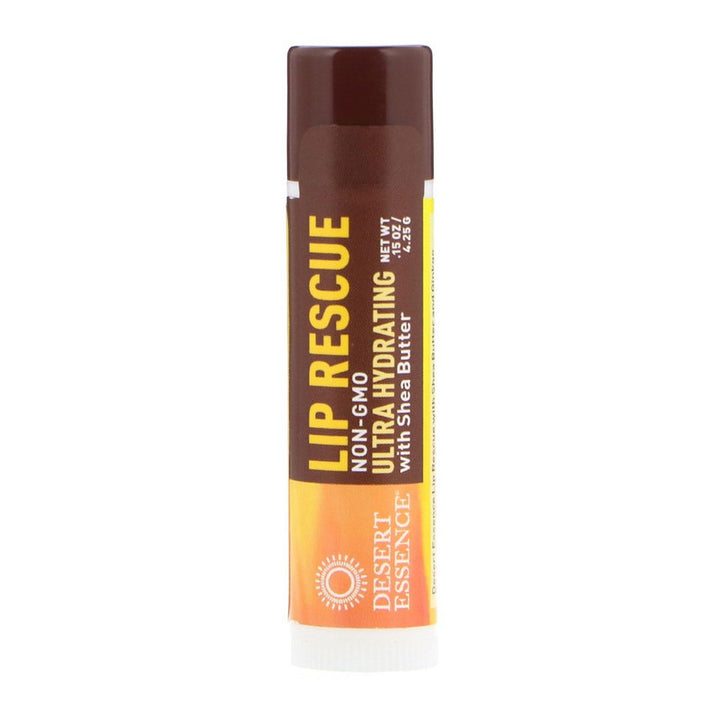 Desert Essence, Lip Rescue, Ultra Hydrating with Shea Butter, .15 oz (4.25g)