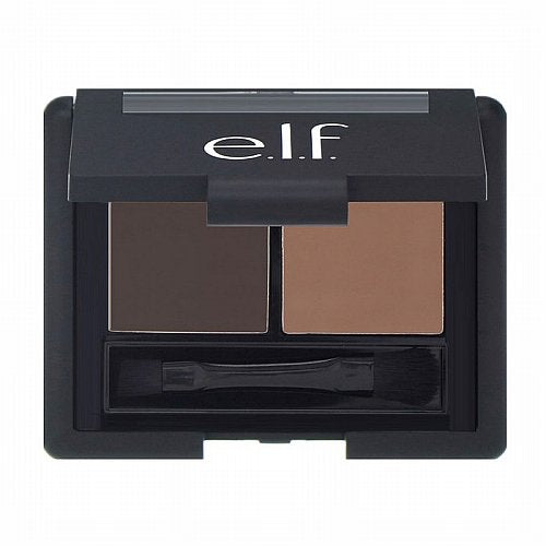 E.L.F. Cosmetics, Eyebrow Kit, Gel & Powder, Dark, Gel 0.05 oz (1.4 g) Powder 0.08 oz (2.3 g),