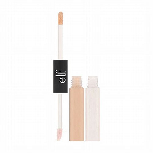 E.L.F. Cosmetics, Under Eye Concealer & Highlighter, Fair/Glow, 0.2 oz (6 ml) Each