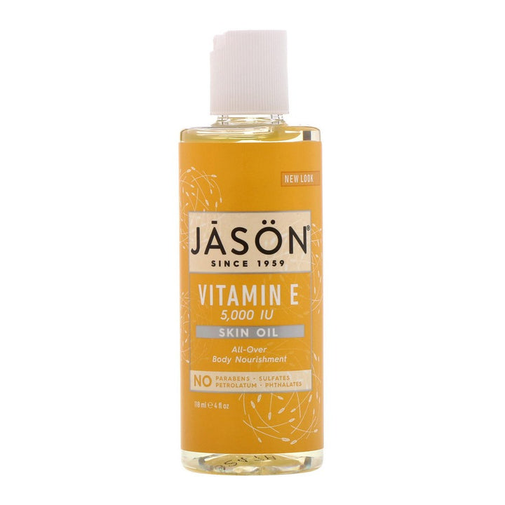 Jason Natural, Vitamin E Skin Oil, 5,000 IU, 4 floz (118ml)