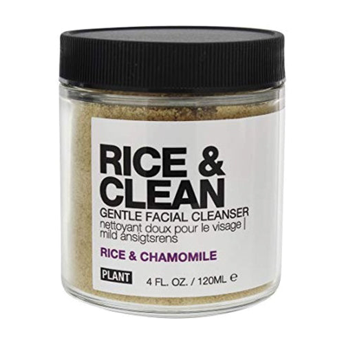 PLANT Apothecary, Rice & Clean Gentle Facial Cleanser, 4 oz (120ml)