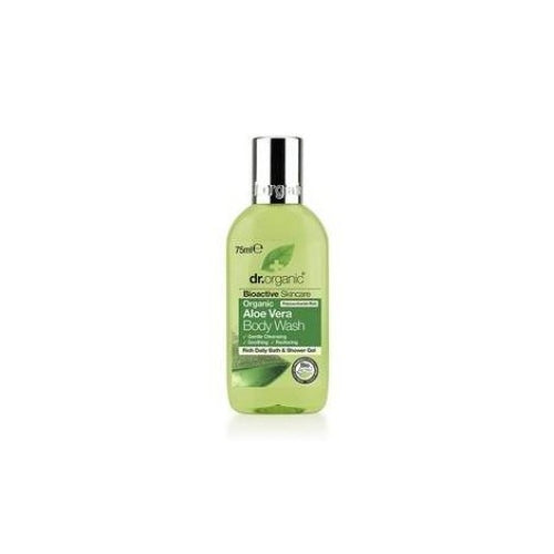 Dr Organic Aloe Vera Body Wash Travel Size 75ml