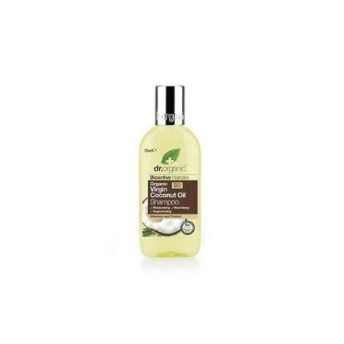Dr Organic Virgin Coconut Oil Shampoo Travel Size 75ml