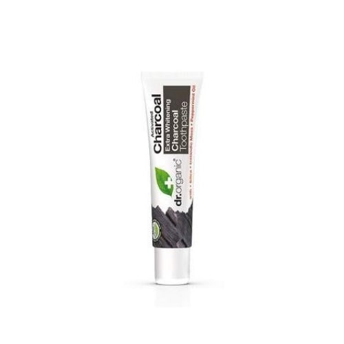 Dr Organic Charcoal Toothpaste Travel Mini 20ml