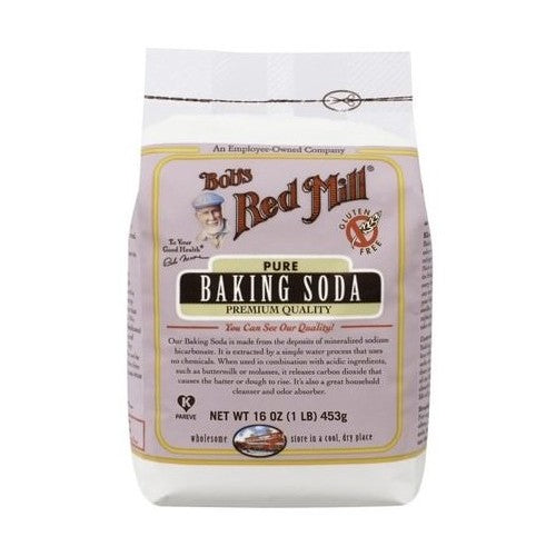 Bob's Red Mill, Pure Baking Soda, Gluten Free, 16 oz (453 g)