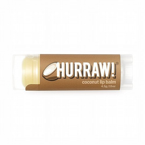 Hurraw!, Balm, Lip Balm, Coconut, .17 oz (4.8 g)