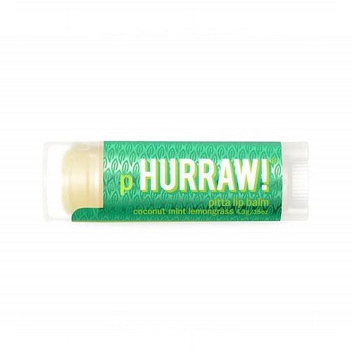 Hurraw!, Balm, Pitta Lip Balm, Coconut Mint Lemongrass, .17 oz (4.8 g)