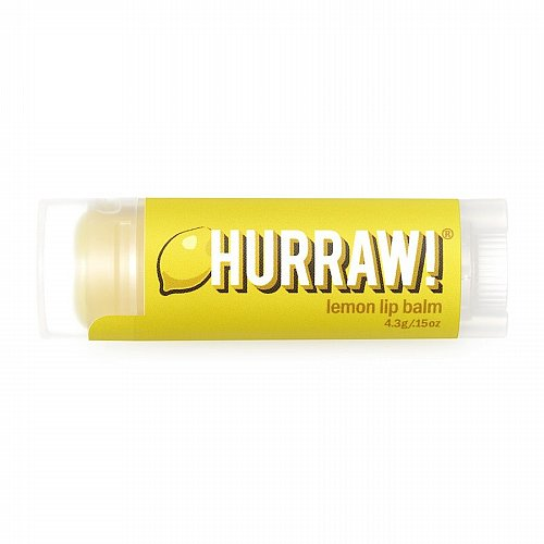 Hurraw!, Balm, Lip Balm, Lemon, .17 oz (4.8 g)