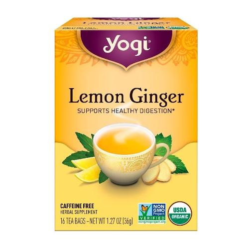 Yogi, Lemon Ginger, Supports Healthy Digestion, 16 Tea Bags, 1.27 OZ(36g)