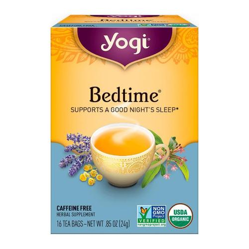 Yogi, Bedtime, Bedtime Tea SUPPORTS A GOOD NIGHT'S SLEEP, 16 Tea Bags, 0.85 OZ(24g)