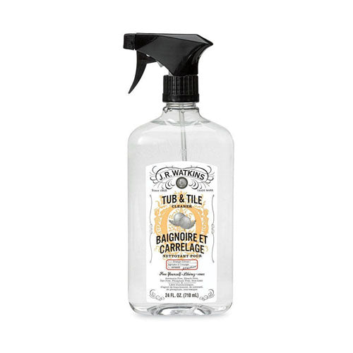 J.R. Watkins, Tub & Tile Cleaner Orange Citrus, 24 fl oz (710ml)