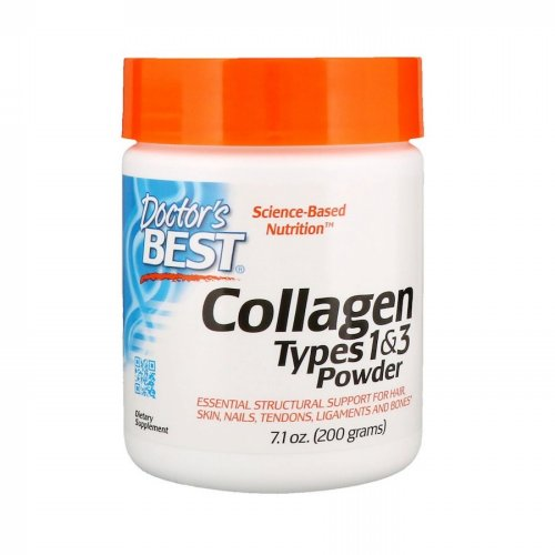 Doctor's Best, Collagen, Types 1 & 3 Powder, 7.1 oz (200 g)