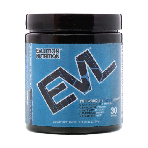 EVLUTION NUTRITION, ENGN Shred, Blue Raz Pre-Workout, 8.1 oz (231 g)