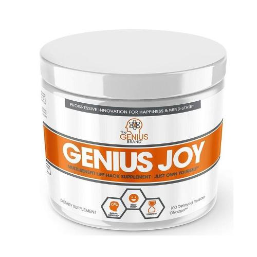 The Genius Brand, Genius Joy, 100 Delayed Release DRcaps