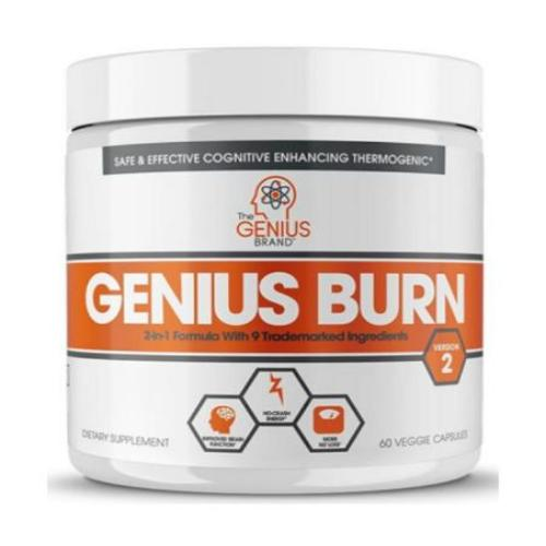 The Genius Brand, Genius Burn, 60 Veggie Capsules
