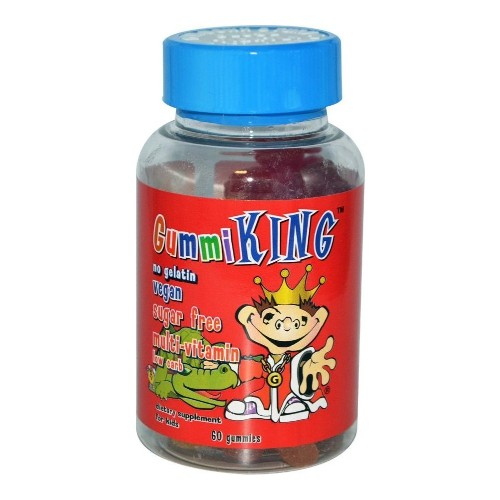Gummi King, Suger Free Multi-Vitamin, For Kids, 60 Gummies