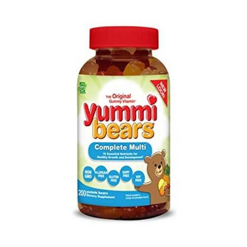 Hero Nutritional Products, Yummi Bears, The Original Gummy Vitamin, Complete Multi, 200 Yummi Bears
