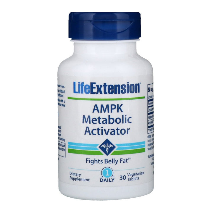 Life Extension, AMPK Metabolic Activator, 30 Vegetarian Tablets