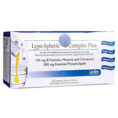 LivOn Laboratories Lypo-Spheri B-Complex plus – 30 Packets