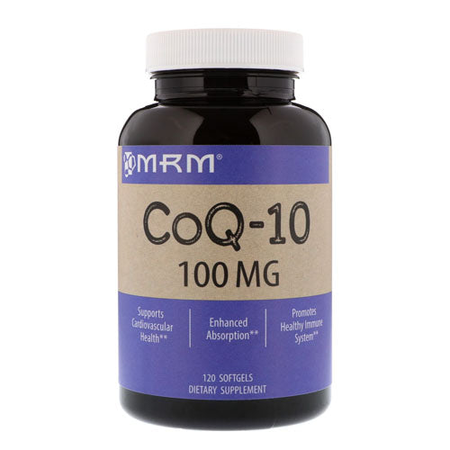 MRM, CoQ-10, 100 mg, 120 Softgels