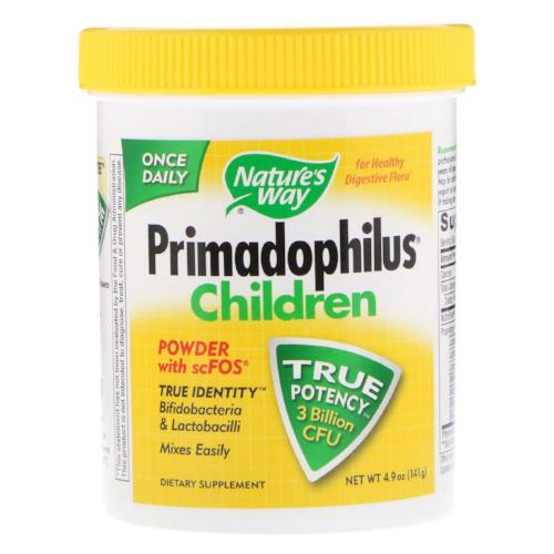 Nature's Way, Primadophilus Children, Powder with scFOS, Bifidobacteria & Lactobacilli, 4.9oz(141g)