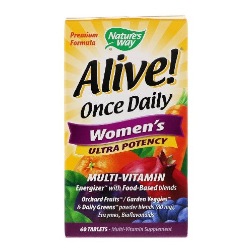 Nature's Way, Once Daily Women's Ultra Potency Multi-Vitamin, 60 Tablets