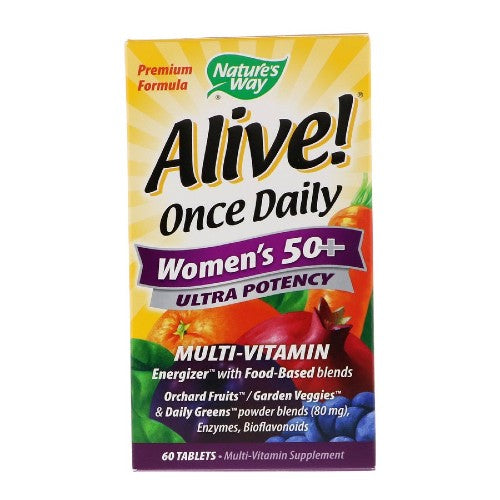 Nature's Way, Once Daily, Women's 50+ Multi-Vitamin, 60 Tablets