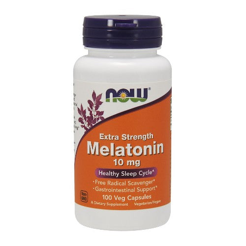 Now Foods, Extra Strength Melatonin, 10 mg, 100 Veg Capsules