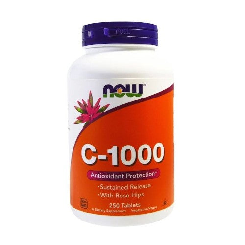 Now Foods, C-1000, 250 Tablets