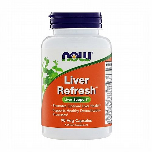 Now Foods, Now Foods, Liver Refresh, 90 Veg Capsules