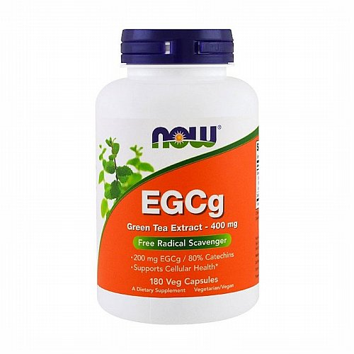 Now Foods, Now Foods, EGCg, Green Tea Extract, 400 mg, 180 Veg Capsules