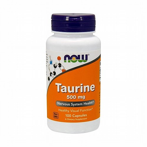 Now Foods, Now Foods, Taurine, 500 mg, 100 Capsules
