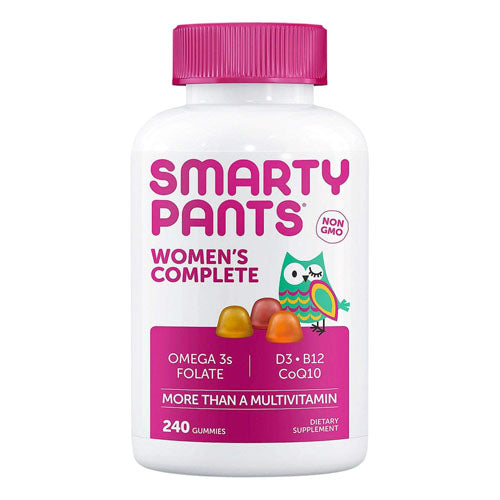 Smarty Pants, Womens Complete, Multivitamin Plus Omega 3, Folate, Vitamin D3, Vitamin B12, CoQ10, 240 Gummies