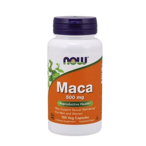 NOW Foods, Maca 500mg, 100 Veg Capsules