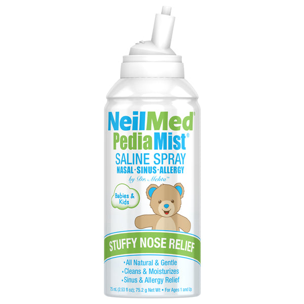 NeilMed, PediaMist Saline Spray - 75 ml.