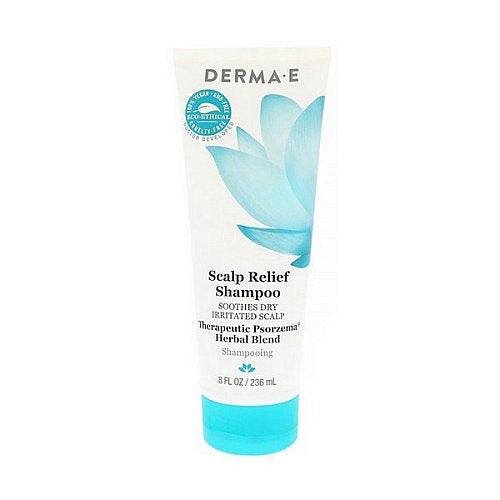 Derma E, Scalp Relief Shampoo, 8 fl oz (236 ml)