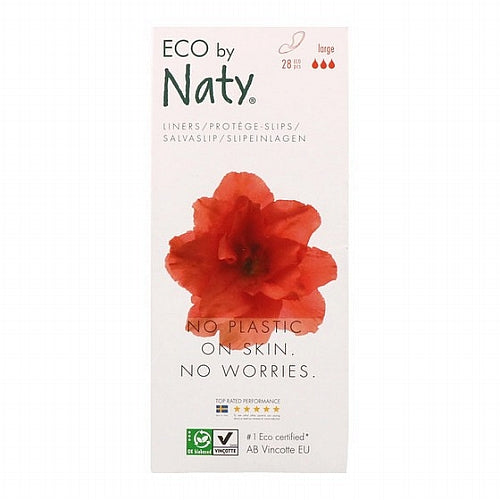 Naty, Panty Liners, Large, 28 Eco Pieces