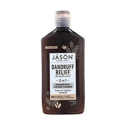 Jason Natural, Dandruff Relief Treatment, 2 in 1, Shampoo + Conditioner, 12 fl oz (355 ml)