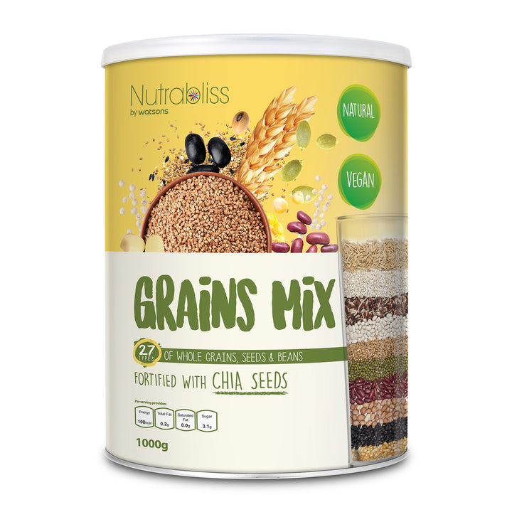 Nutrabliss by Watsons, Grains Mix, 1000 g