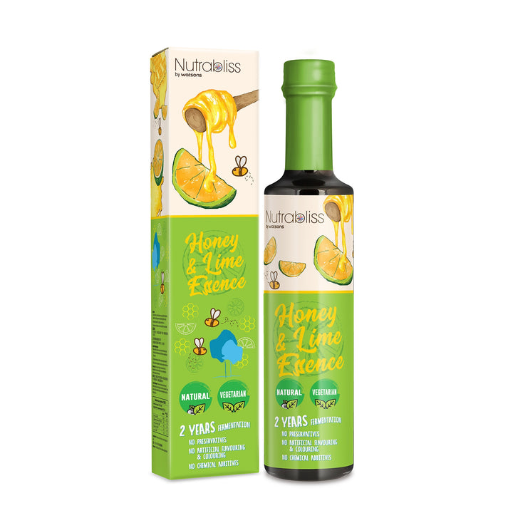 Nutrabliss by Watsons, Honey & Lime Essence, 375 ml