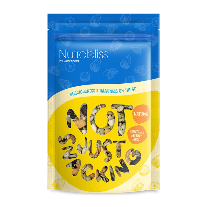 Nutrabliss by Watsons, Mixed Nuts & Dried Fruits, 180 g